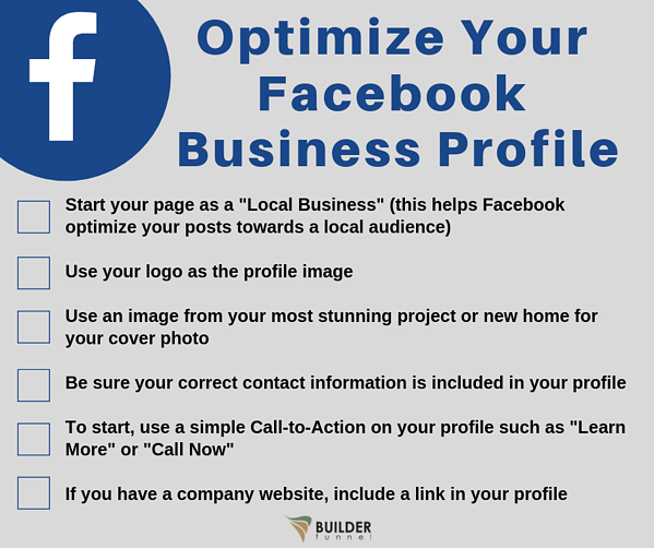 Optimize Your Facebook Business Profile